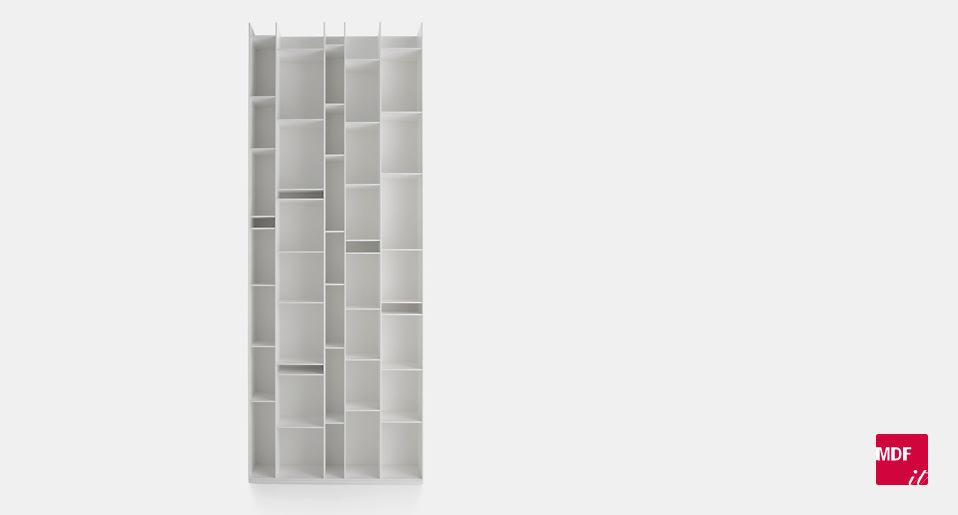 regalsystem random von mdf italia drifte wohnform. Black Bedroom Furniture Sets. Home Design Ideas