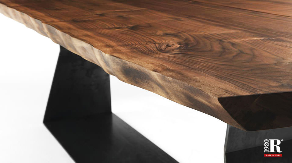 riva 1920 tisch bedrock plank b drifte wohnform. Black Bedroom Furniture Sets. Home Design Ideas