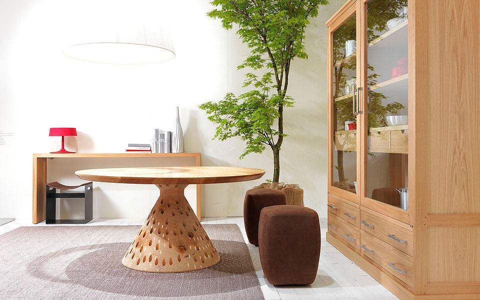tisch aus holz colino riva – topby, Möbel