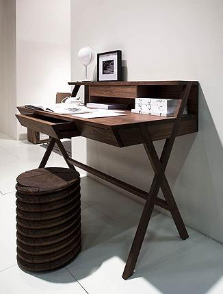 riva 1920 schreibtisch navarra drifte wohnform. Black Bedroom Furniture Sets. Home Design Ideas