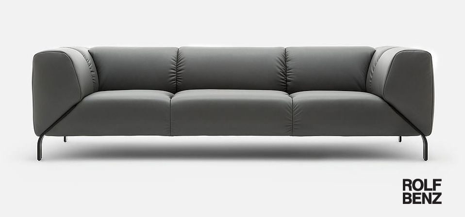 rolf benz sofa 323 drifte wohnform. Black Bedroom Furniture Sets. Home Design Ideas