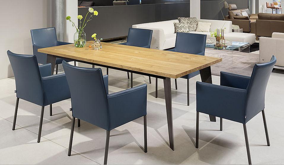 rolf benz esstisch 979 drifte wohnform. Black Bedroom Furniture Sets. Home Design Ideas