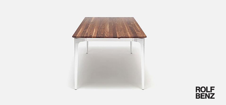 rolf benz esstisch co sinus 2 drifte wohnform. Black Bedroom Furniture Sets. Home Design Ideas