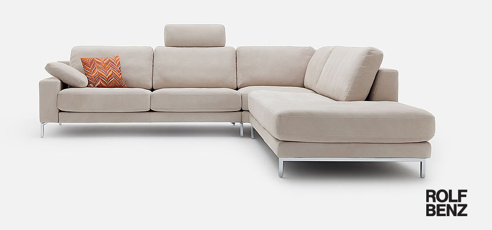 Sofa rolf benz ego drifte wohnform for Couch benz