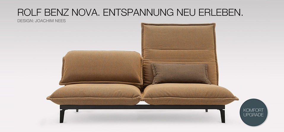 sofa rolf benz nova drifte wohnform. Black Bedroom Furniture Sets. Home Design Ideas