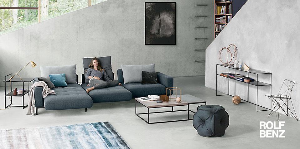 rolf benz sofa tira drifte wohnform. Black Bedroom Furniture Sets. Home Design Ideas