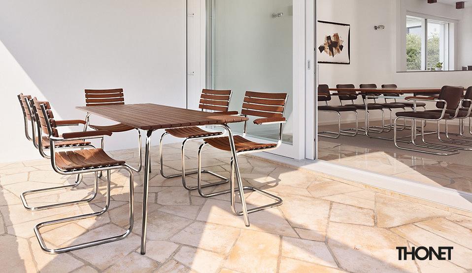 s 1040 tisch thonet all seasons drifte wohnform. Black Bedroom Furniture Sets. Home Design Ideas