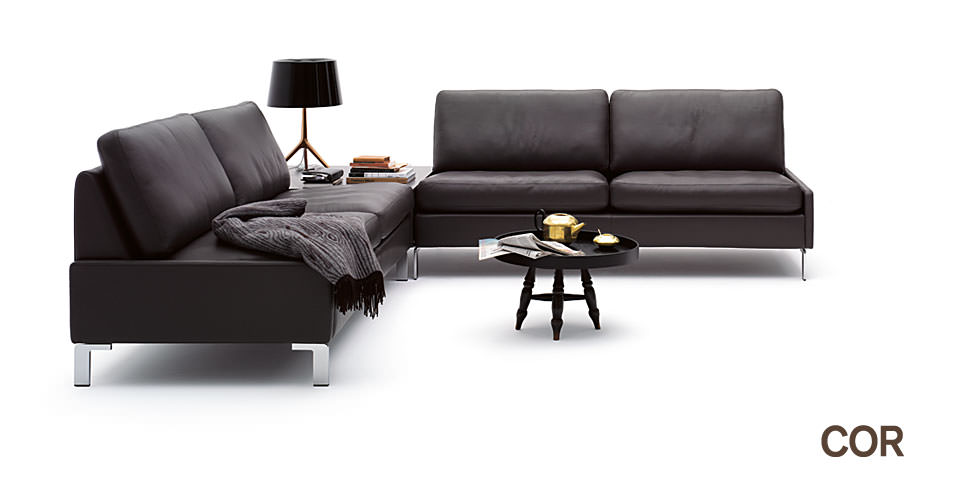 sofa cor conseta drifte wohnform. Black Bedroom Furniture Sets. Home Design Ideas