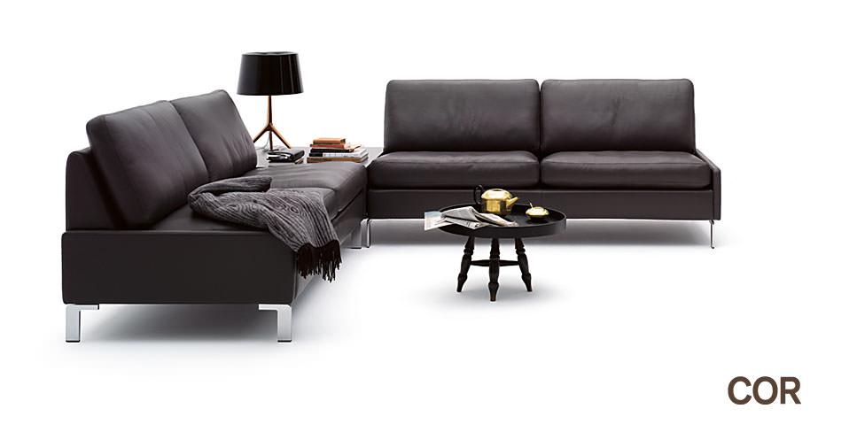 sofa cor conseta drifte wohnform. Black Bedroom Furniture Sets. Home Design Ideas