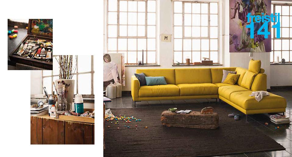 sofa freistil von rolf benz heimdesign innenarchitektur. Black Bedroom Furniture Sets. Home Design Ideas