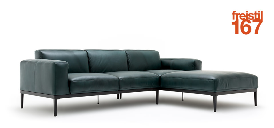 sofa freistil 167 von rolf benz drifte wohnform. Black Bedroom Furniture Sets. Home Design Ideas