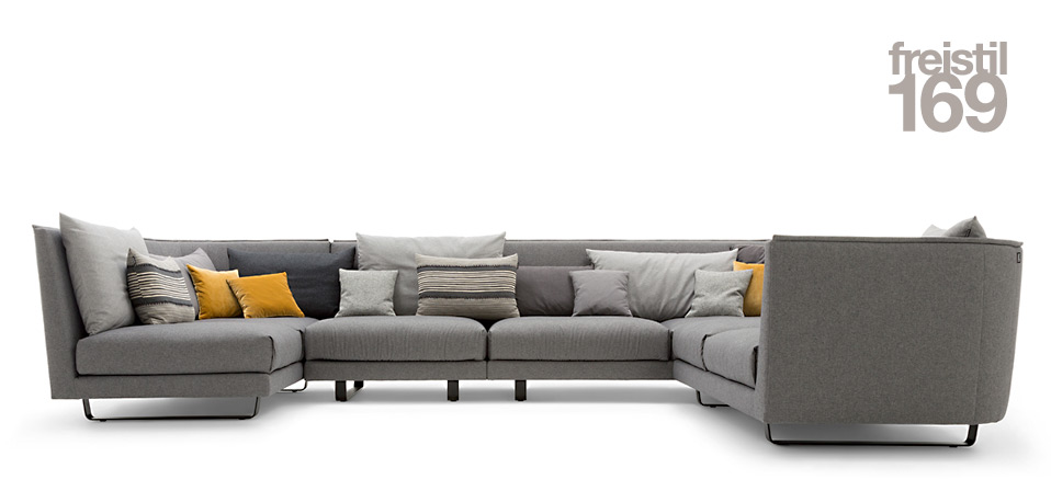 sofa freistil 169 rolf benz drifte wohnform. Black Bedroom Furniture Sets. Home Design Ideas