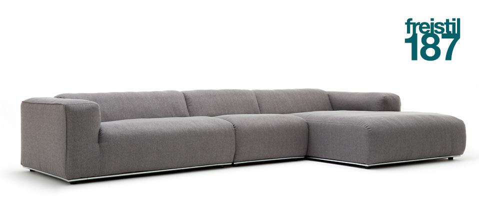 sofa freistil 187 rolf benz drifte wohnform. Black Bedroom Furniture Sets. Home Design Ideas