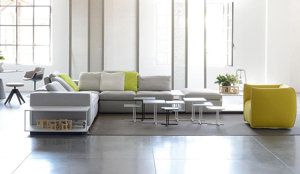 Sofa und sessel mia von mdf italia drifte wohnform for Mdf italia spa