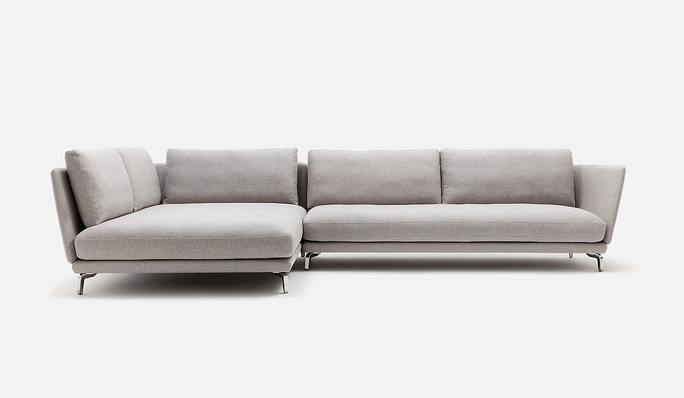 nubukleder couch trendy natura providence recamiere in stoff braun with nubukleder couch. Black Bedroom Furniture Sets. Home Design Ideas