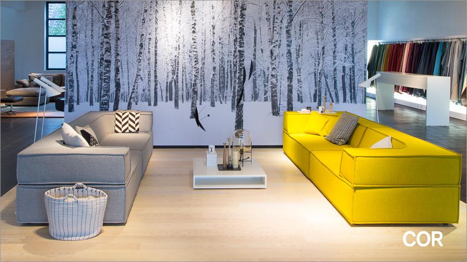 sofa cor trio k benhavn drifte wohnform. Black Bedroom Furniture Sets. Home Design Ideas
