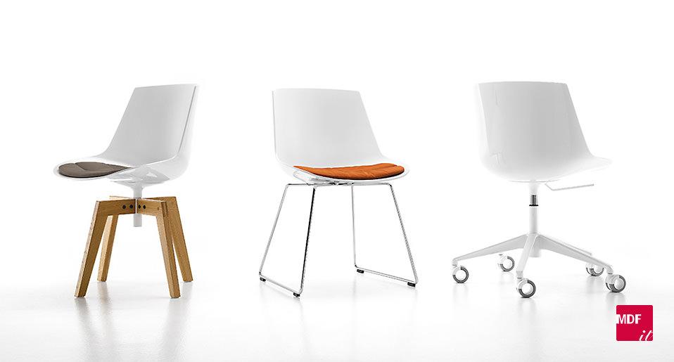 stuhl flow chair von mdf italia drifte wohnform. Black Bedroom Furniture Sets. Home Design Ideas