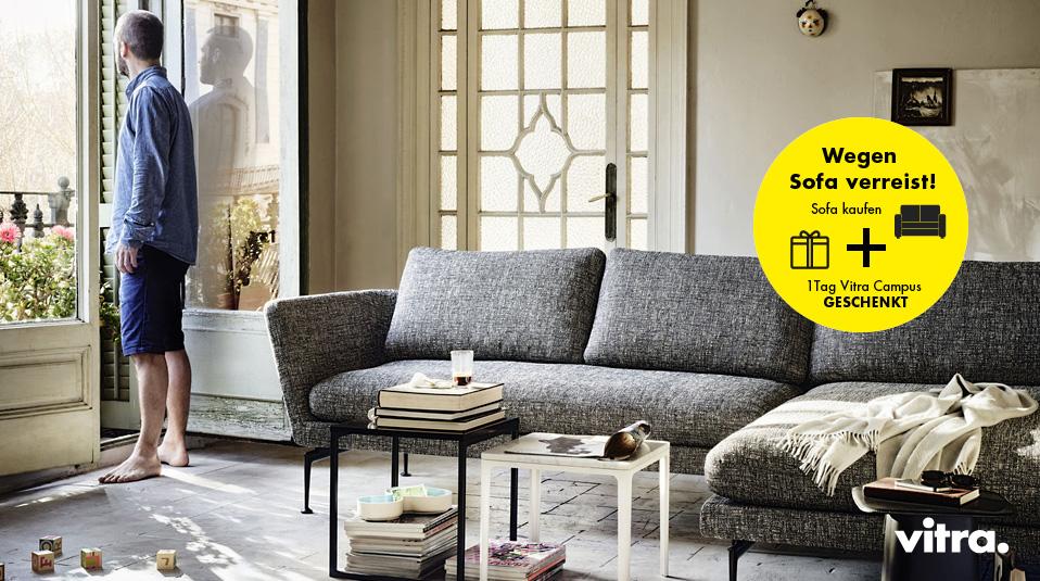 Vitra, wegen Sofa verreist - Drifte Wohnform