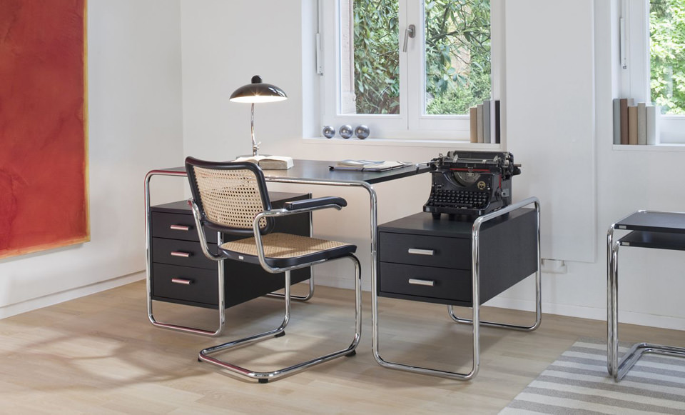 thonet s 285 schreibtisch drifte wohnform. Black Bedroom Furniture Sets. Home Design Ideas