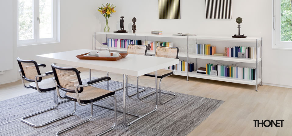 thonet freischwinger s 64 drifte wohnform. Black Bedroom Furniture Sets. Home Design Ideas
