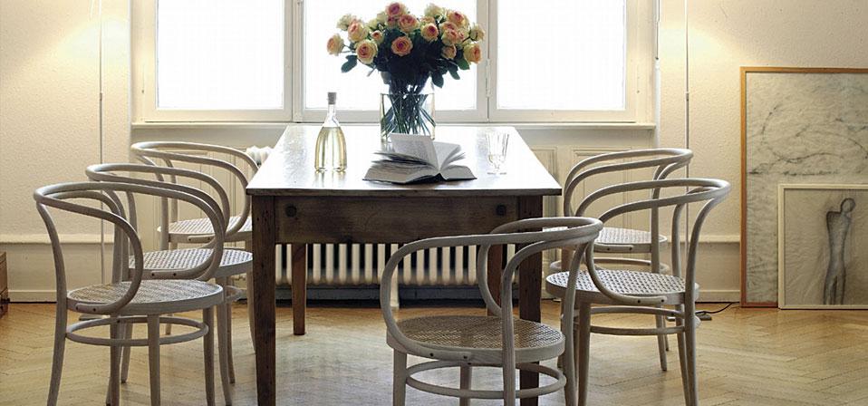 thonet bugholzm bel und stahlrohrklassiker drifte wohnform. Black Bedroom Furniture Sets. Home Design Ideas