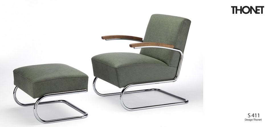 thonet freischwinger s 411 drifte wohnform. Black Bedroom Furniture Sets. Home Design Ideas