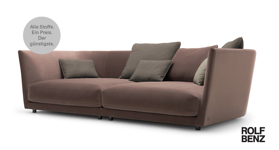 tondo sofa von rolf benz drifte wohnform. Black Bedroom Furniture Sets. Home Design Ideas