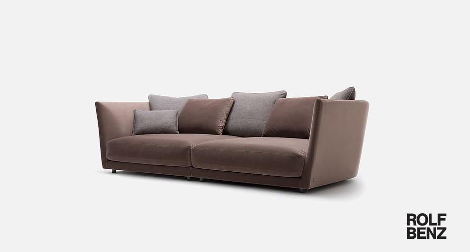Rolf benz sofas und sessel drifte wohnform - Rolf benz online bestellen ...
