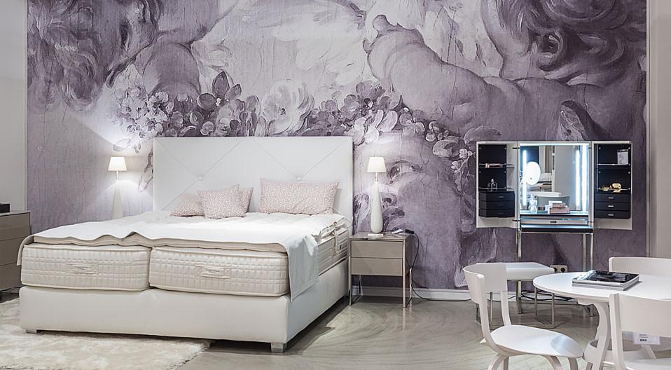 treca interiors paris boxspringbetten drifte wohnform. Black Bedroom Furniture Sets. Home Design Ideas