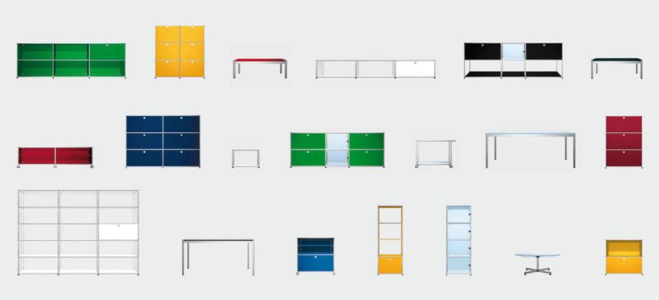 usm möbelbausysteme ausstellung  drifte wohnform ~ Bücherregal Usm