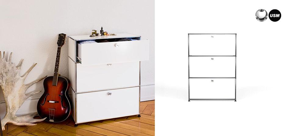 usm haller regal drifte wohnform. Black Bedroom Furniture Sets. Home Design Ideas