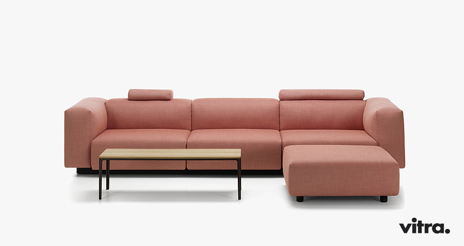 vitra soft modular sofa jasper morrison drifte wohnform. Black Bedroom Furniture Sets. Home Design Ideas