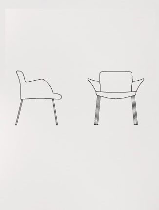 Walter Knoll Burgaz Chair.