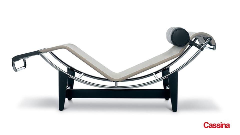 Cassina LC4 Chaiselongue Le Corbusier Drifte Wohnform
