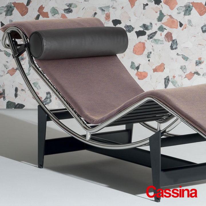 Cassina LC4 Chaiselongue Le Corbusier