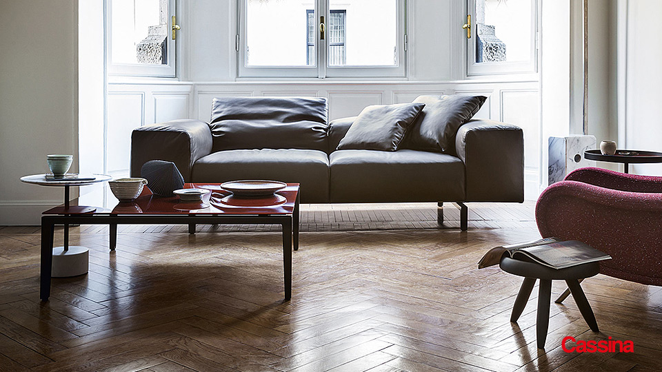 Cassina Sofa 204 Scighera