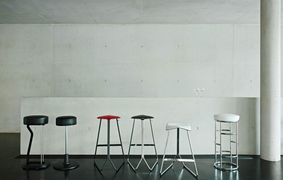 ClassiCon Bar Stool No. 1 - Eileen Gray 1928