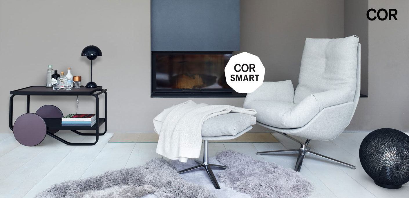 COR Smart Schnell-Lieferservice Sessel Cordia Lounge
