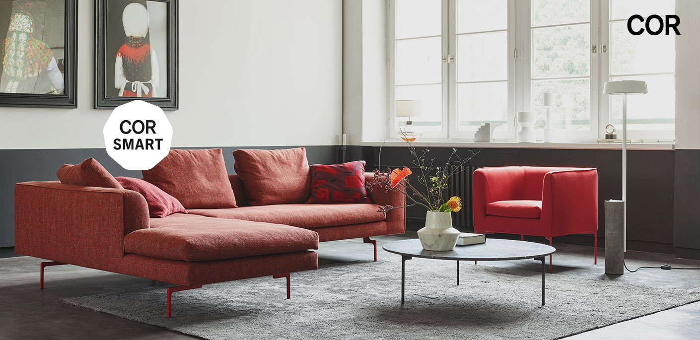 COR Smart Schnell-Lieferservice Sofa Mell Lounge