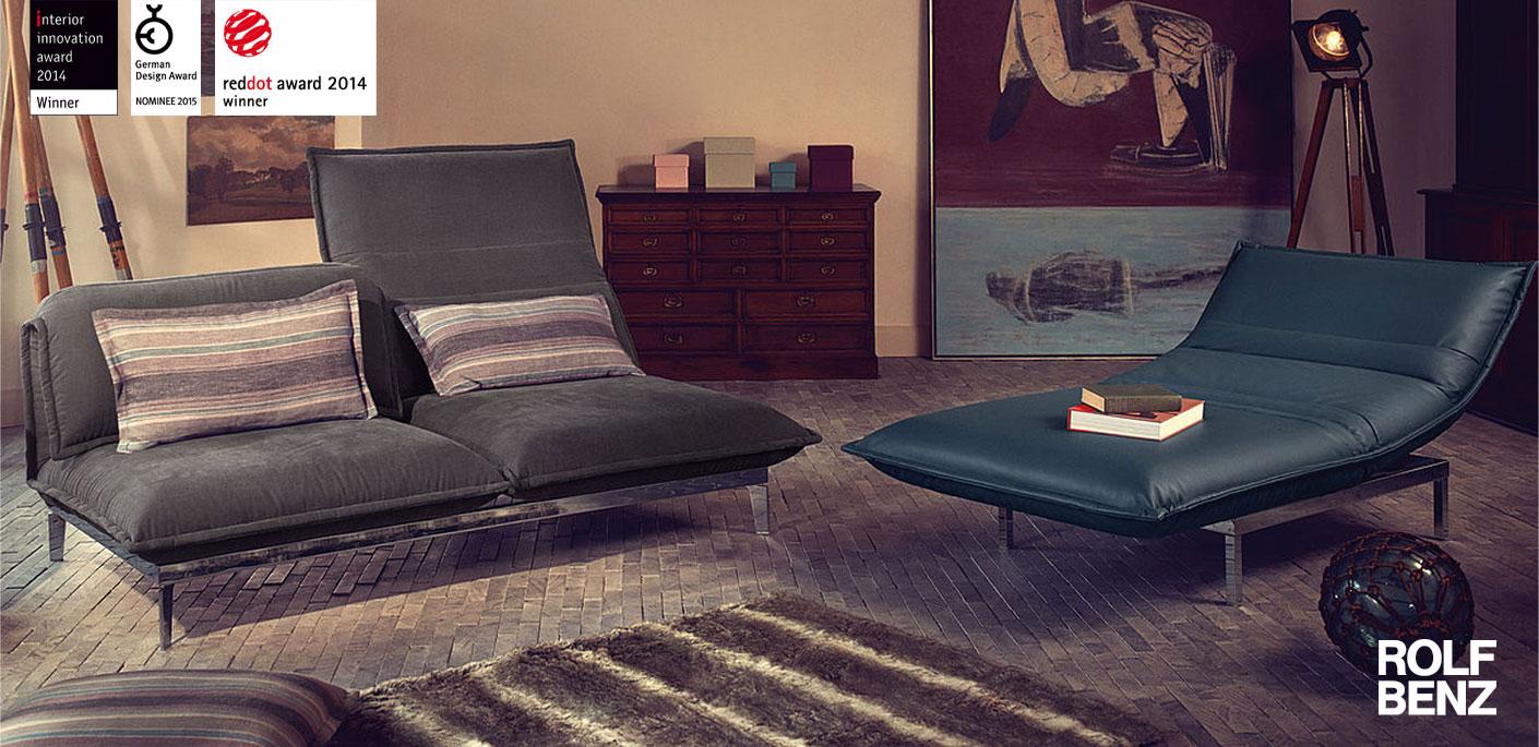 Rolf Benz Sofa NOVA Drifte Wohnform