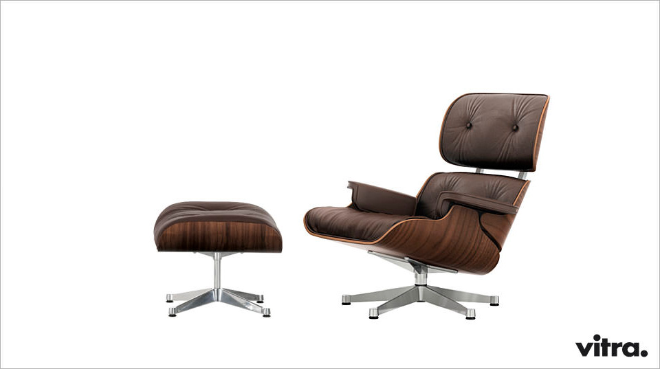 Eames Lounge Chair & Ottoman – neue Beauty-Versionen