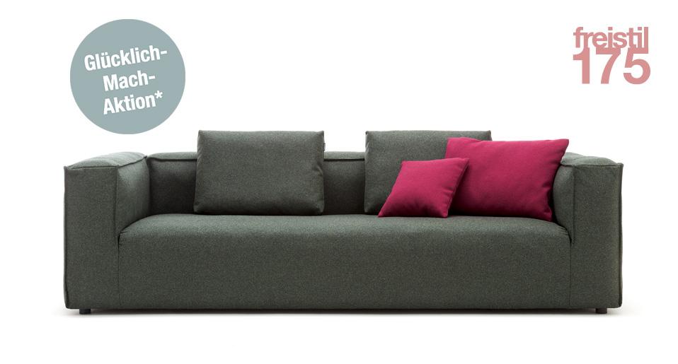freistil 175 Sofa Rolf Benz Drifte Wohnform