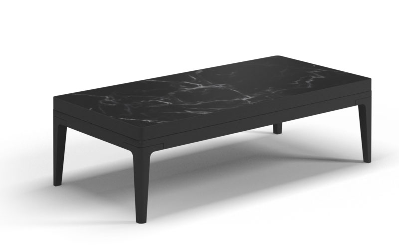 Lodge Coffee Table - Ceramic Top