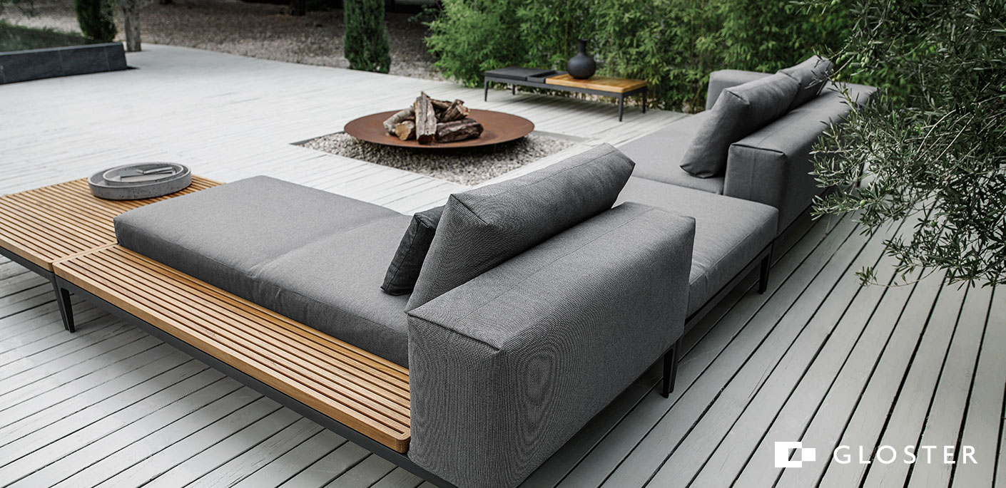 Gloster Grid Outdoor Lounge