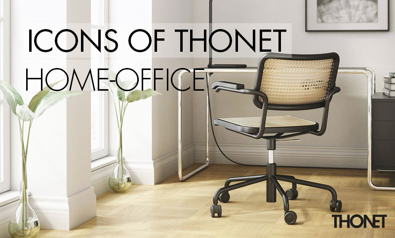 icons of Thonet im Home Office