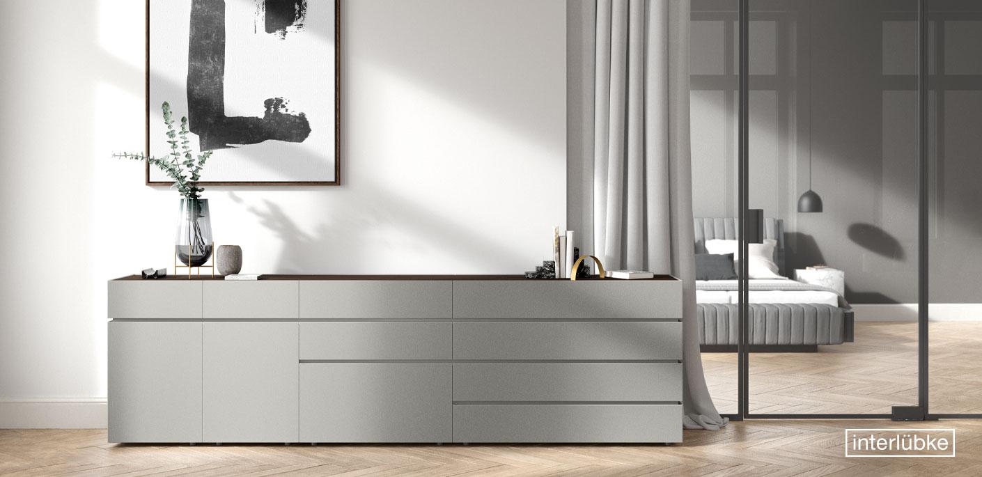 interlübke Möbel Bett Kommode Drifte Wohnform
