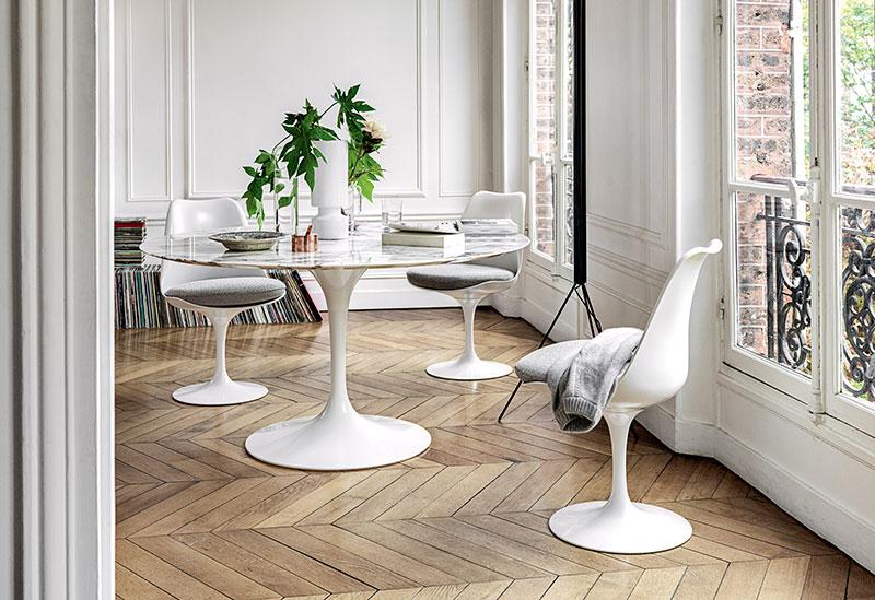 Knoll International Saarinen Tulip Esstisch Drifte Wohnform