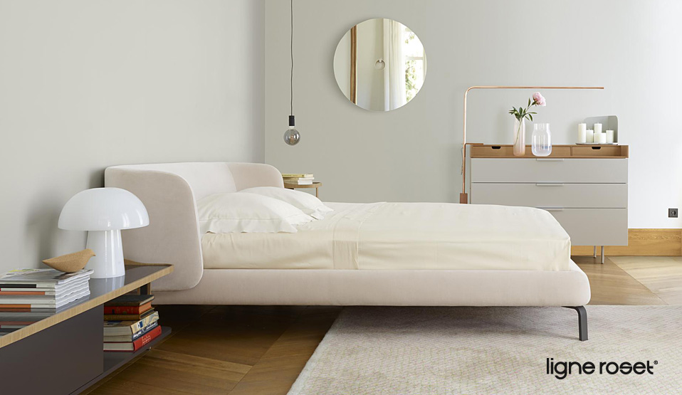ligne roset betten drifte wohnform. Black Bedroom Furniture Sets. Home Design Ideas