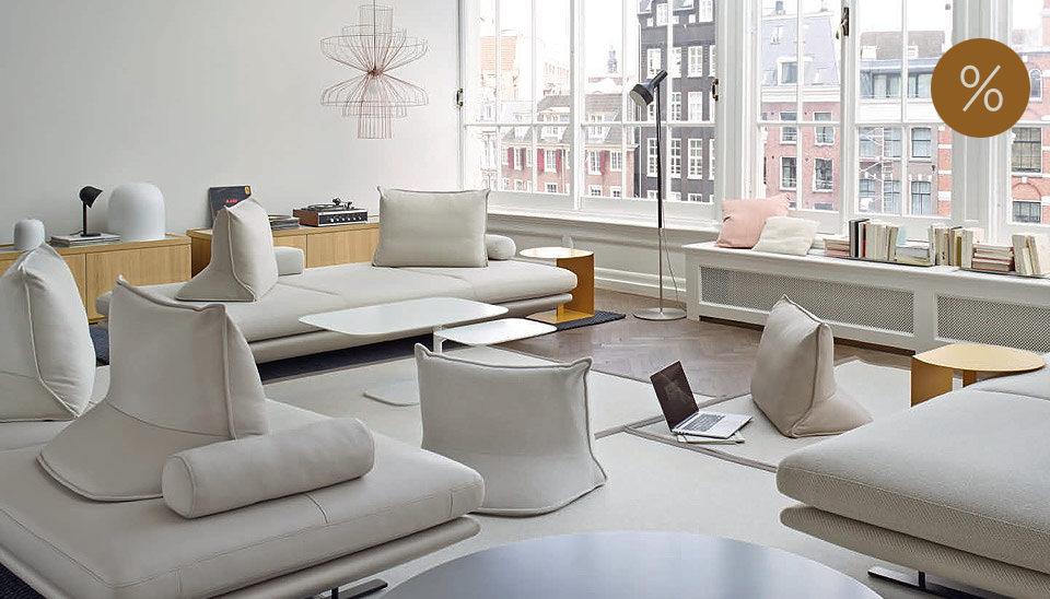 ligne roset sofas wie prado togo und ploum drifte wohnform. Black Bedroom Furniture Sets. Home Design Ideas