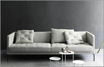 Living Divani Sofa Easy Lipp
